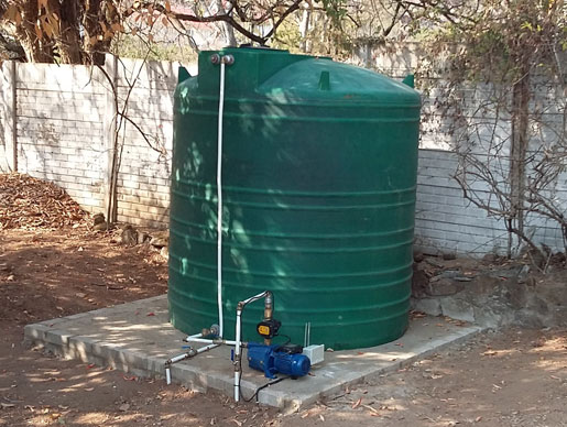 Water Tanks and Booster Pumps